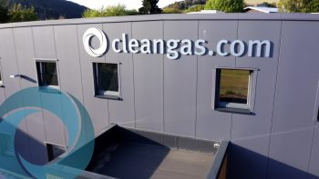 Cleangas Drohnenflug